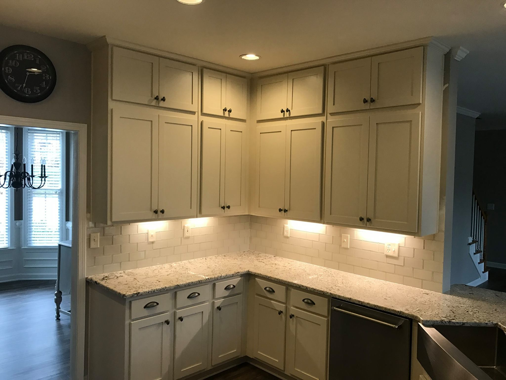 Brawner renovations Metro Atlanta Interior Renovation and remodel interior kitchen remodel recess and undercabinet lighting cobb county Image